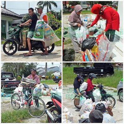 Penimbangan Sampah