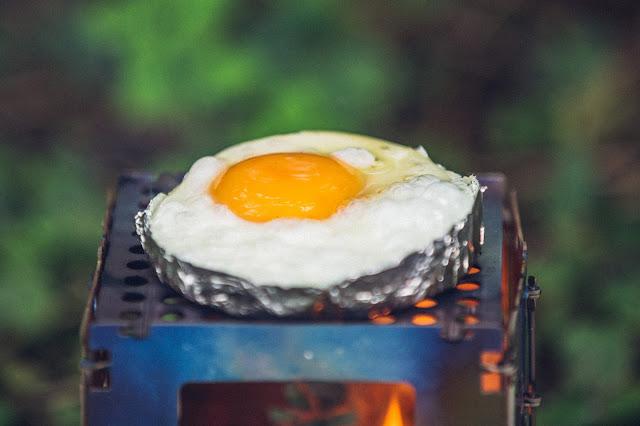 Outdoor Kitchen  Frühstück aus der Bushbox 04
