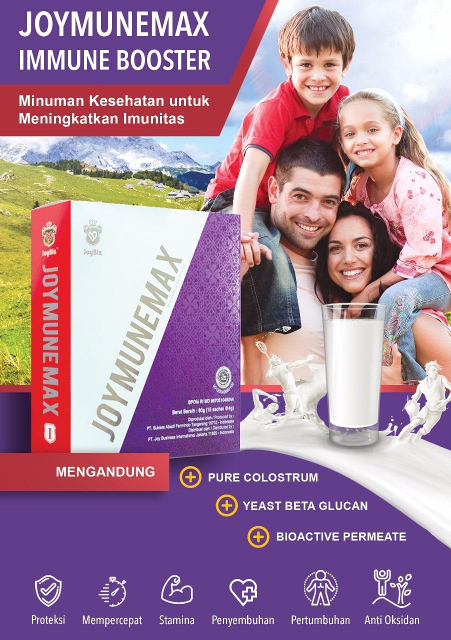 Brosur Joymunemax Minuman Kesehatan untuk Meningkatkan Imunitas