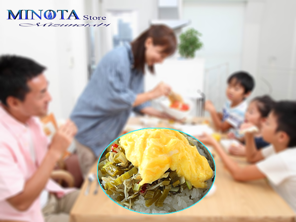 Món ngon từ nước kiềm - trứng xào cải chua-h1