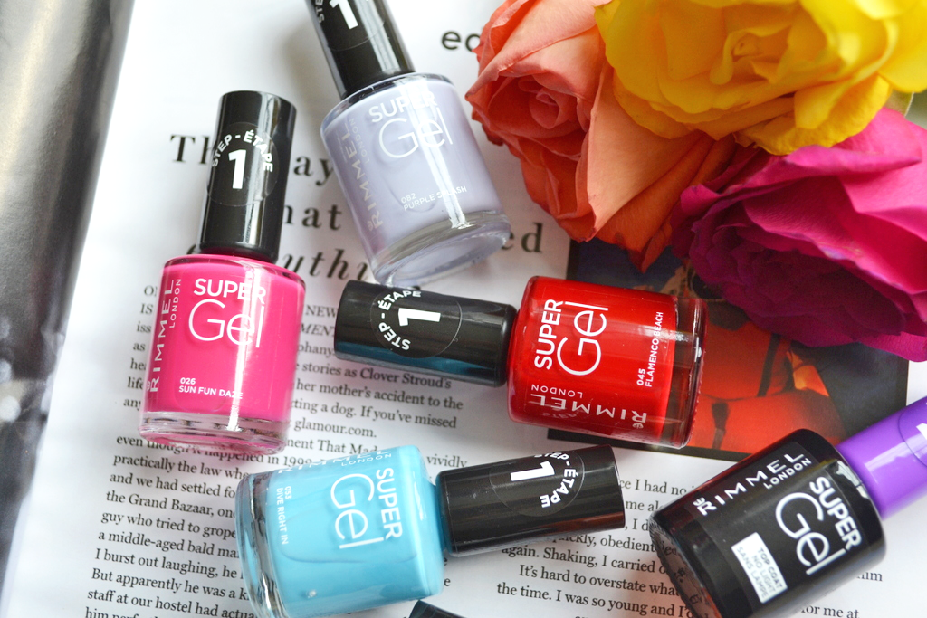 """The 5 new shades sit alongside a range which already boasts 23 colours. Within the """"beach-ready"""" collection we have 'Sun Fun Daze' (a bright medium pink), ..."""
