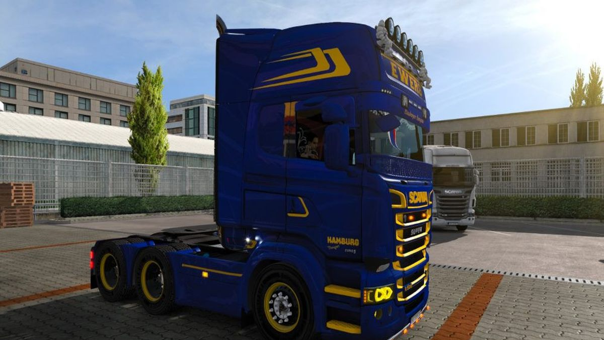 Ewers Transport Skin for Scania RJL