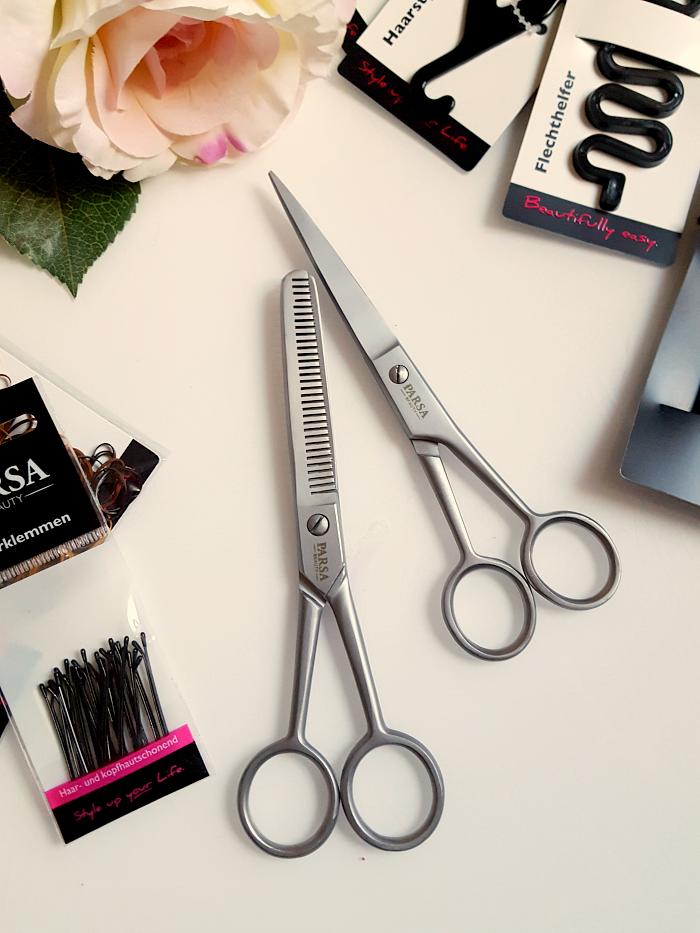 Quick Tipp: Haarschere & Effilierschere zum Haare schneiden zu Hause