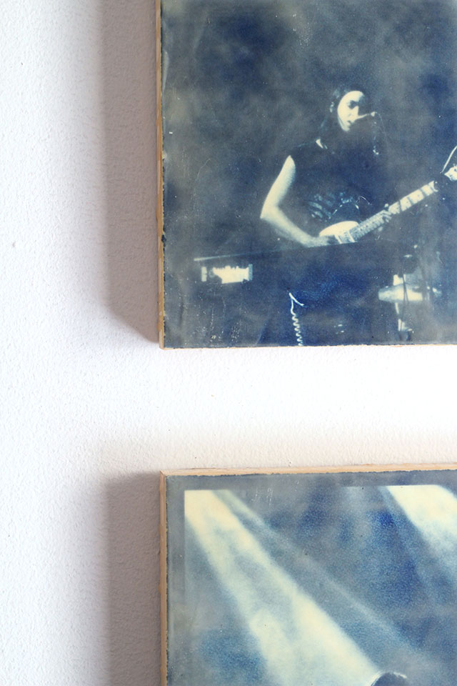 Our Minneapolis Apartment: Wax Cyanotype prints