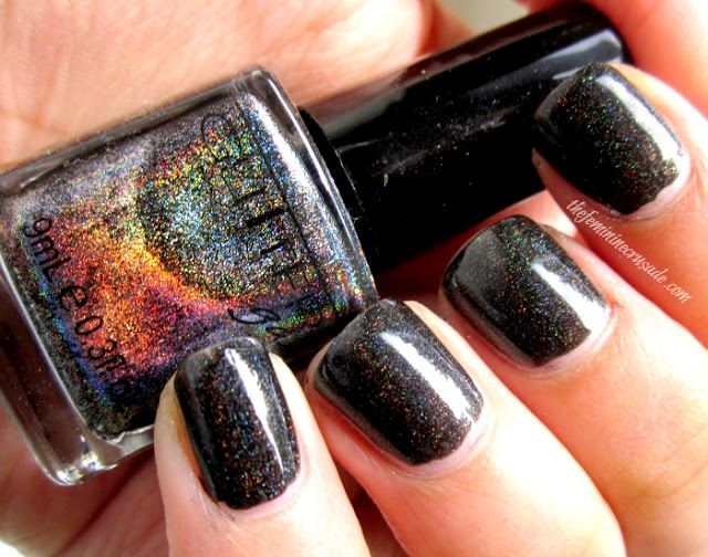 Picture of Glitter Gal 3D Holographic Black