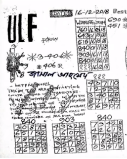 Thai Lottery 2nd Paper Magazines For sixteen-12-2018