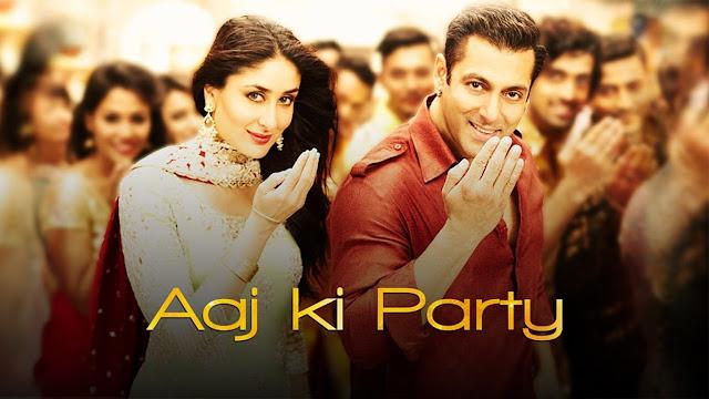 Aaj Ki Party - Mika Singh | Salman Khan, Kareena Kapoor | Bajrangi Bhaijaan
