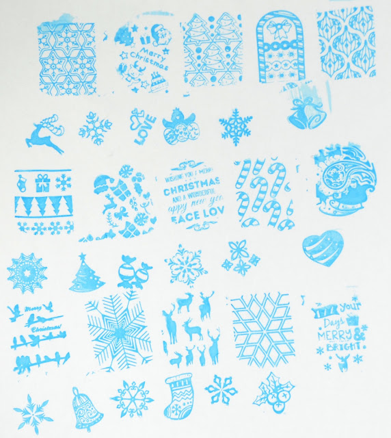 AliExpress stamping plate christmas MR-03