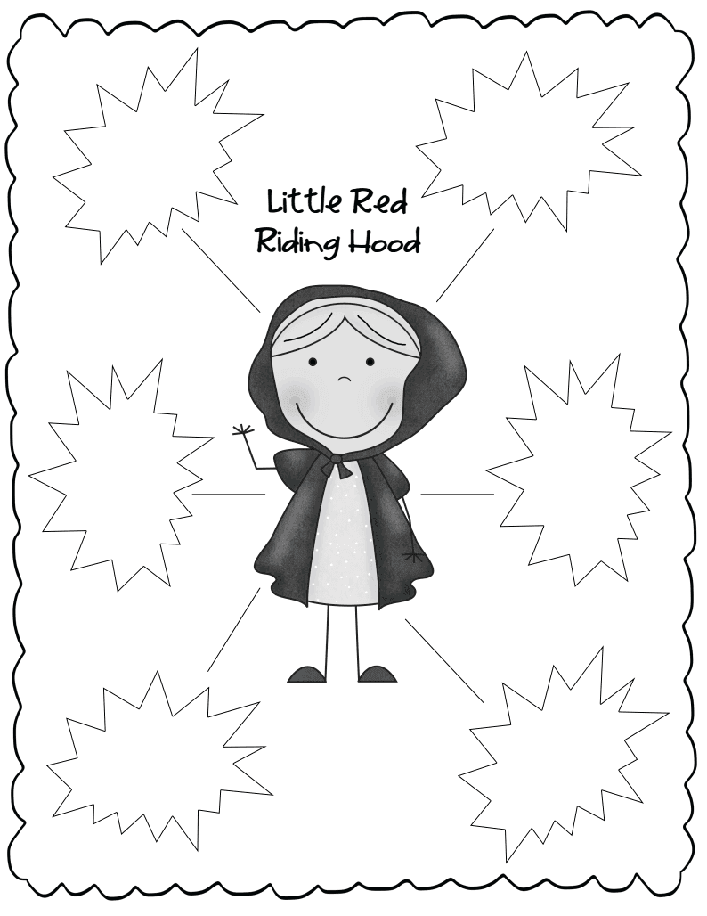 The Weekly Hive: Little Red Riding Hood Common Core Mini