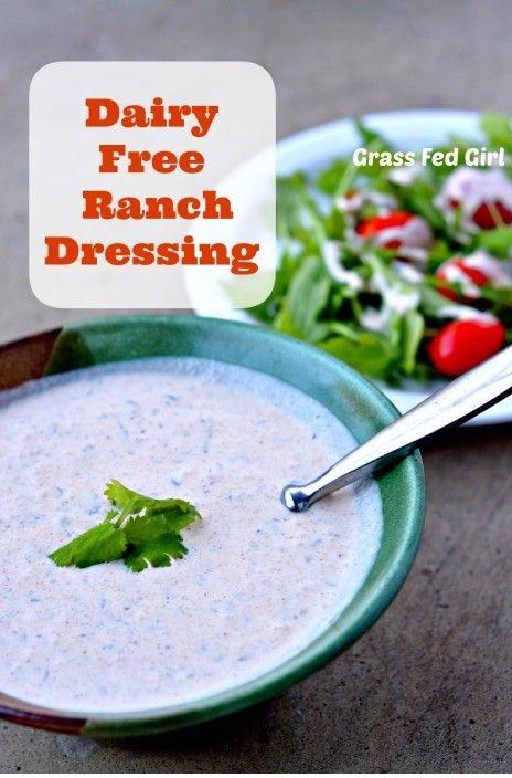Dairy Free Ranch Dressing Recipe
