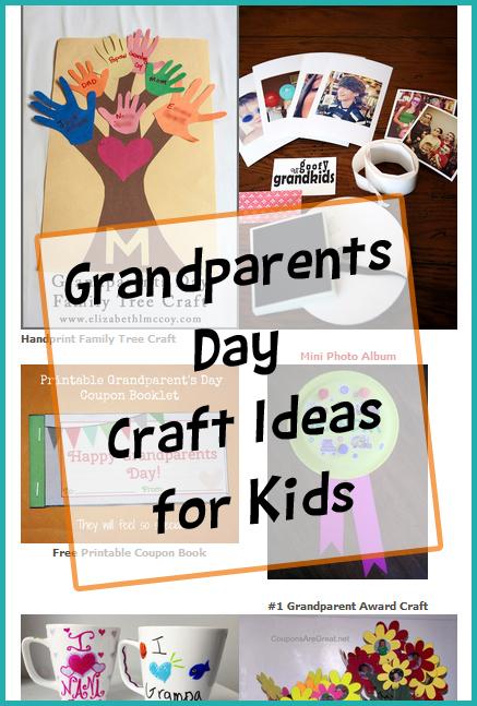 Craft Idea For Grandparents Day