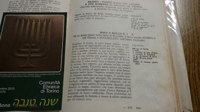 Libro di ricette della tradizione ebraica