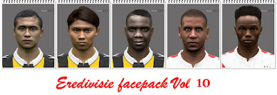 PES 2016 Eredivisie Facepack Vol 10 by Professional