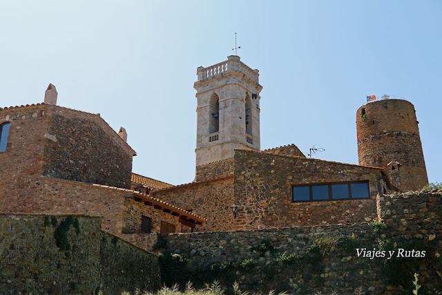Vista de Cruilles, Girona