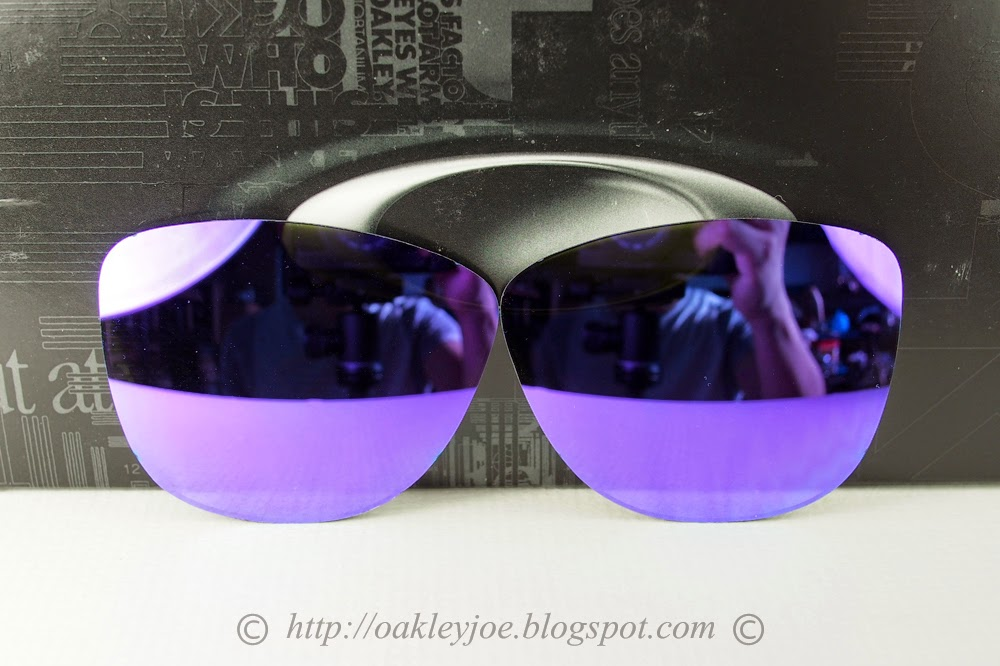 cda93fab0a 43-427 Frogskins Lens jade iridium  100 lens pre coated with Oakley  hydrophobic nano solution