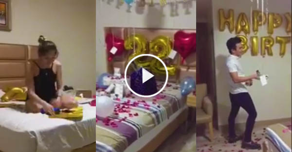 VIRAL: This girlfriend made the sweetest birthday surprise to his boyfriend! Must watch!
