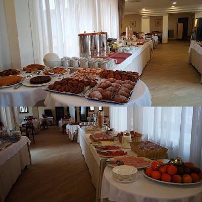Buffet dell'Hotel Giardino a Numana