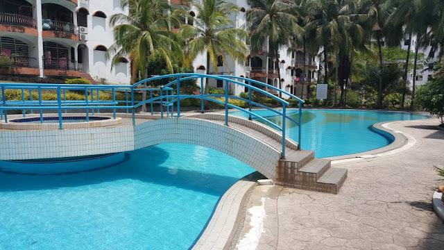 homestay langkawi kolam renang