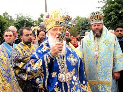 Патріарх Філарет на Буковині