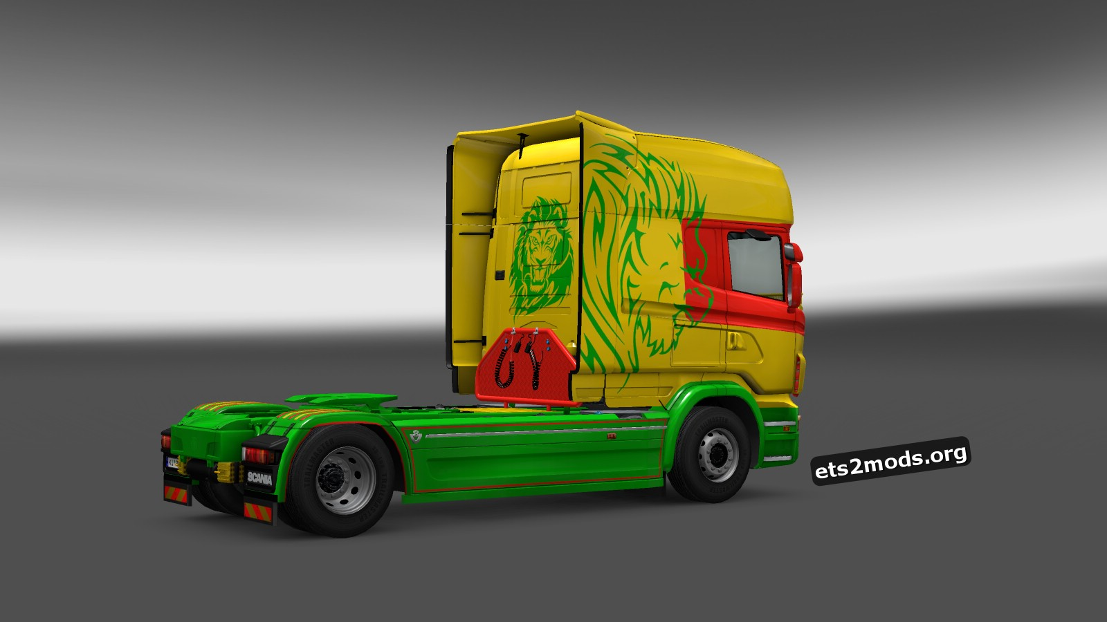 One Love Skin for Scania RJL