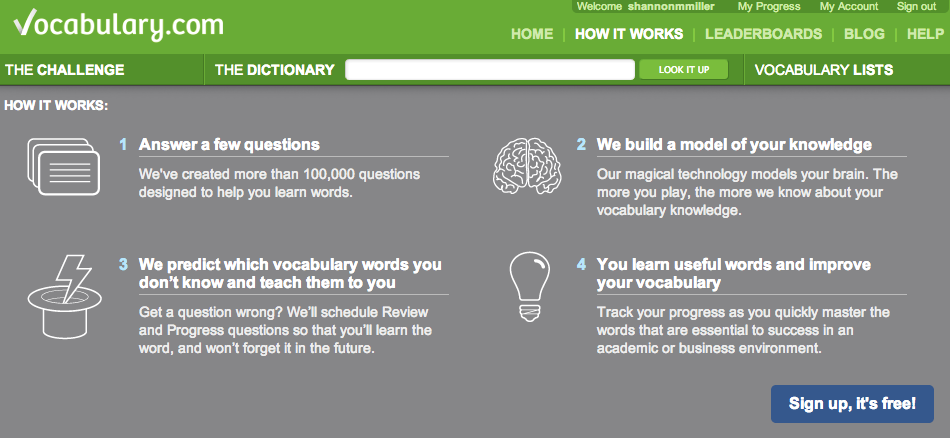 The Library Voice: Learn New Words Every Day with Vocabulary
