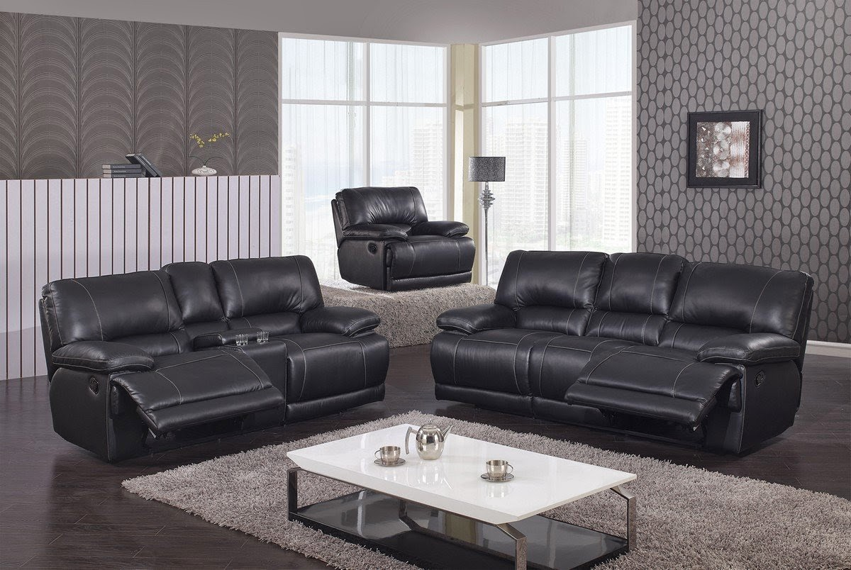 black leather couch black leather reclining couch