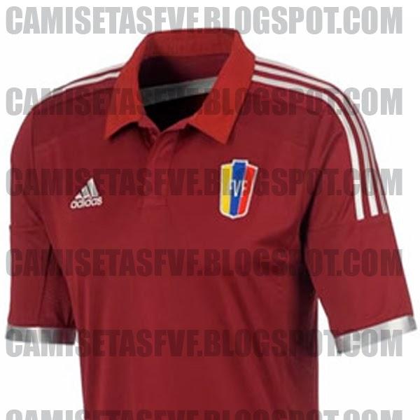 mudo Transitorio Activo  Camisetas FVF: OFICIAL: Nueva camiseta titular adidas de la Vinotinto  2014/2015