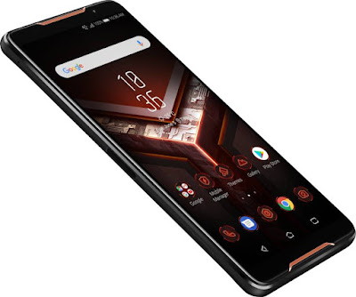 ASUS ROG Phone with 3D vapor-chamber cooling | Qualcomm Speed-binned Snapdragon 845 | 8GB/128GB