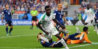 Japón en Rusia 2018 vs Senegal