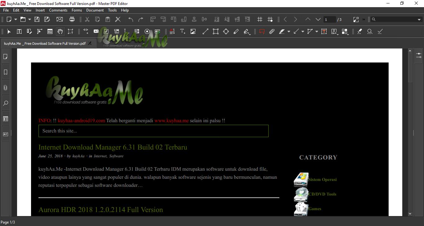 Master PDF Editor 5.3.14 Terbaru  kuyhAa.Me