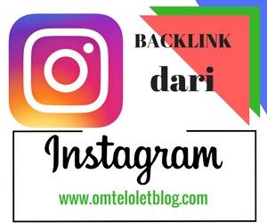 Mendapatkan Backlink dari Instagram