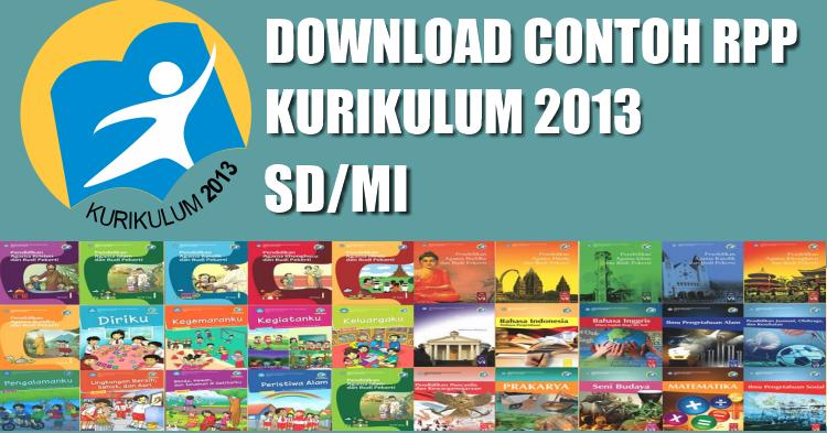 Download Contoh Rpp Kurikulum 13 Untuk Sd Mi Guru Madrasah