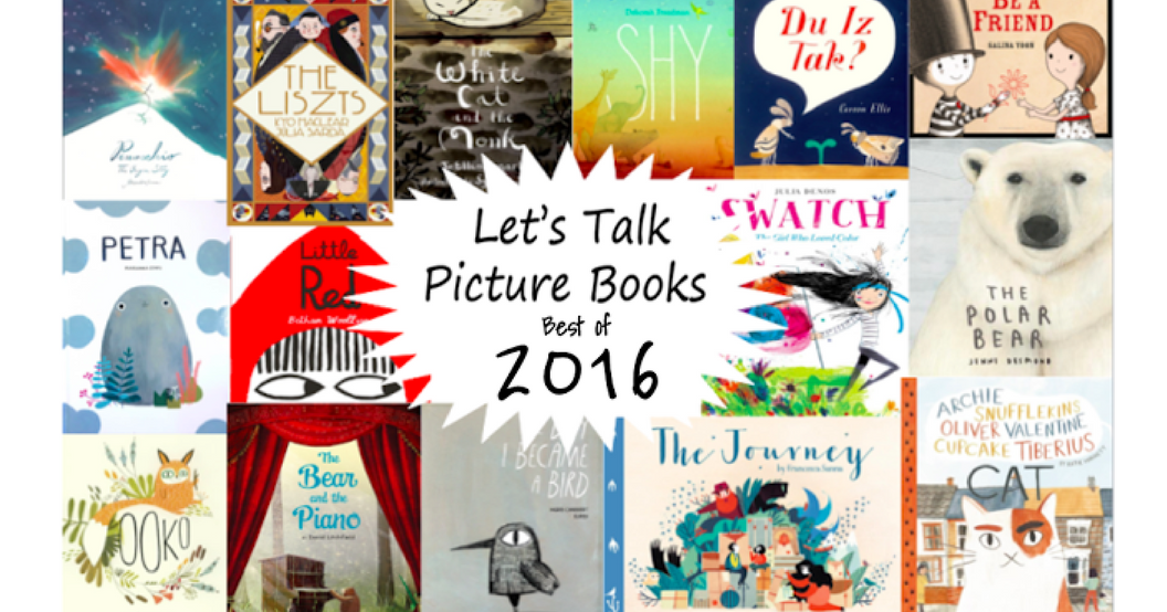 Best Picture Books of 2016