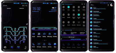 Note Evolution ( Thanos Edition ) v2.2 Samsung Theme