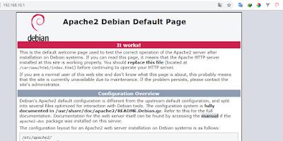 Apache2 webserver di debian 8 jessie