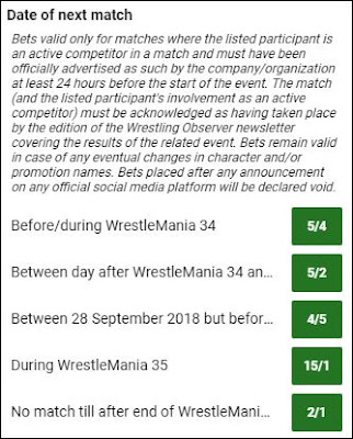 Daniel Bryan Betting Specials For December 4th