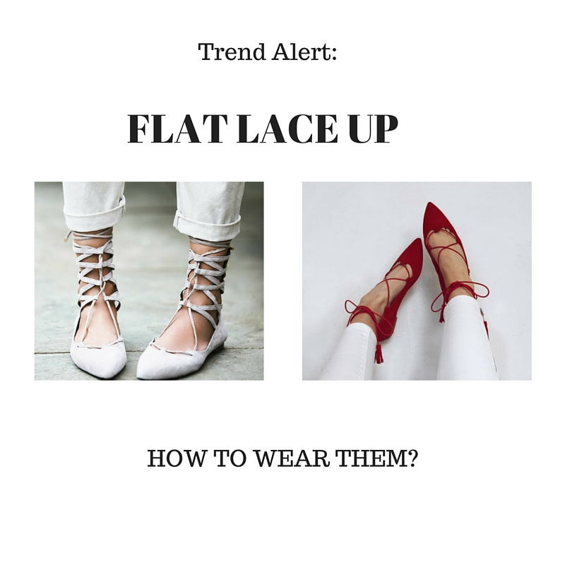 0606b47b1b Color-Block By FelyM.: TREND ALERT: FLAT LACE UP - COME INDOSSARE LE ...