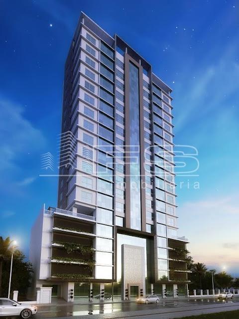 ENC: 1405 - Montepellier Residence - Apartamento 4 suítes - Meia Praia - Itapema/SC