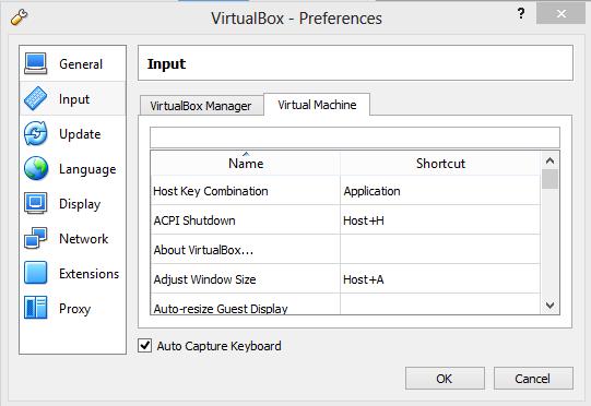 Cara Mengganti Shortcut Key Host di Virtualbox