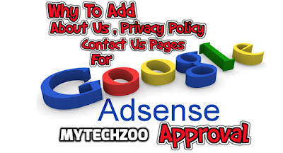 Why To Add About Us , Privacy Policy , Contact Us Page ?