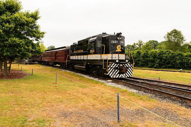 NC Transportation Museum's Train Ride