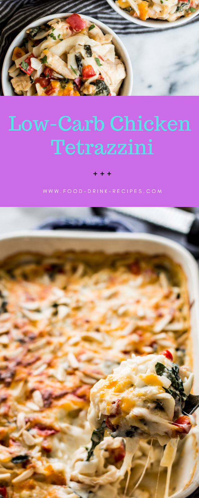 Low-Carb Chicken Tetrazzini