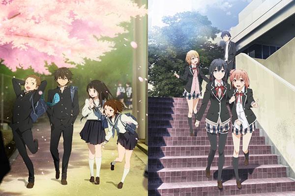 Anime yang mirip Oregairu - Hyouka