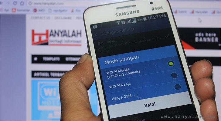Cara Mudah Mengubah Jaringan CDMA ke GSM