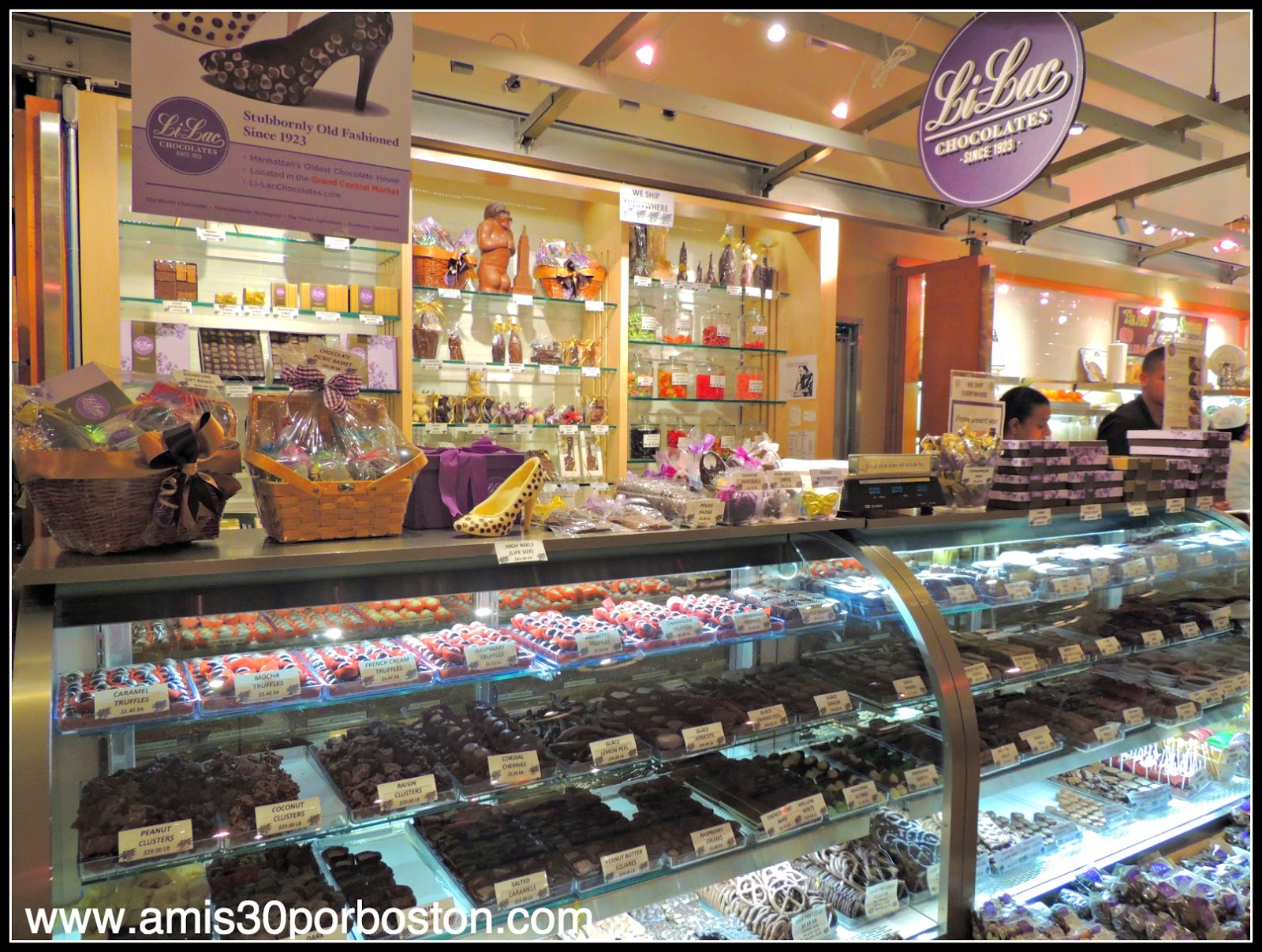 Grand Central Terminal de Nueva York: Dulces del Gran Central Market