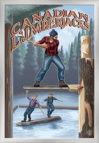 Canadian Lumberjacks poster