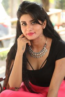 Telugu Actress Harini Stills at Dhyavudaa Movie Teaser Launch  0300.JPG