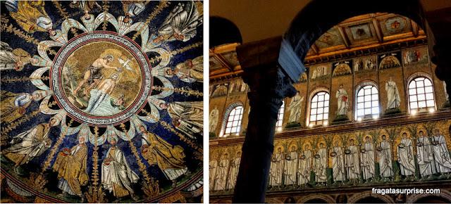 Mosaicos bizantinos de Ravena, Itália