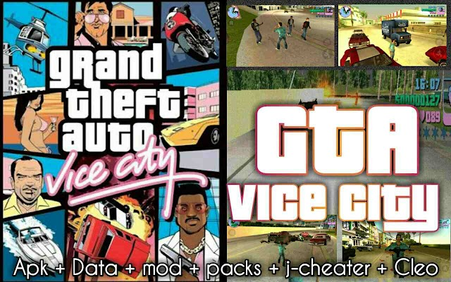 GTA vc Grand Theft Auto: Vice City Apk Mod Money and Data for free Download on Android