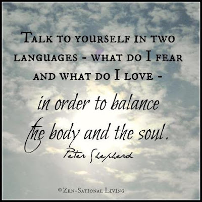 Quotes that bring happiness in your life: talk to yourself in two languages